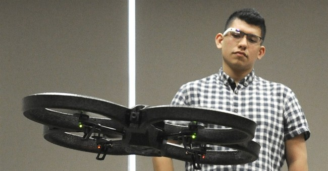 Drones must learn to navigate populated areas