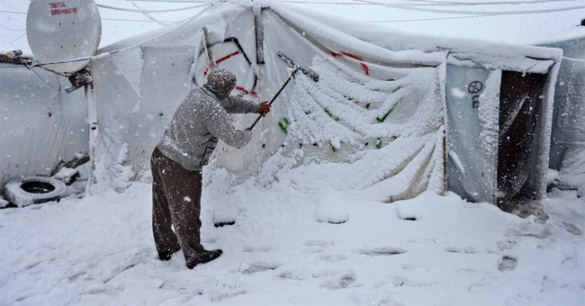 Heavy snowfall, strong winter storm hits Middle East