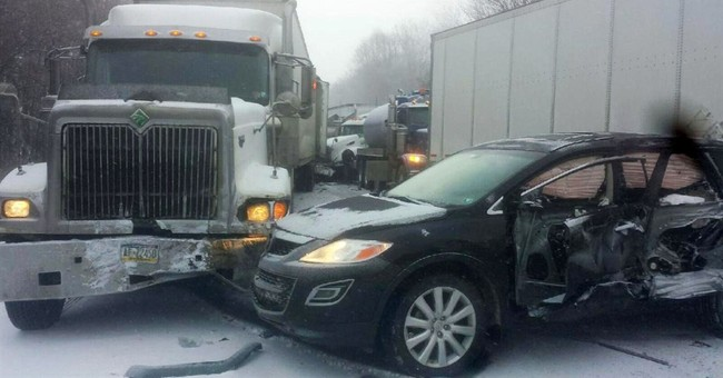 2 dead, dozens injured in Pennsylvania vehicle pileup