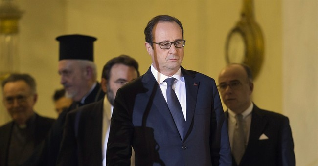 French president urges nation to stay united after attack