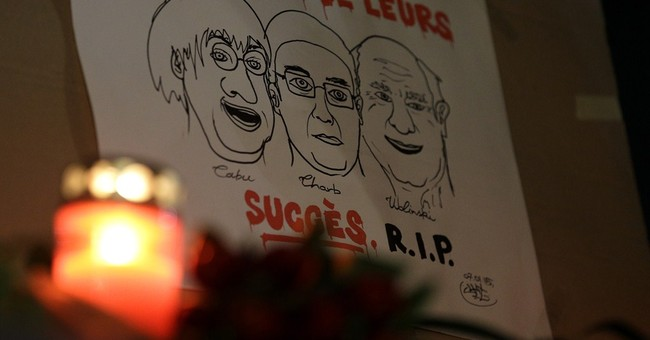 'Je Suis Charlie' message goes viral after Paris attack