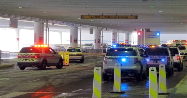 Police fatally shoot man at Ohio airport amid confrontation