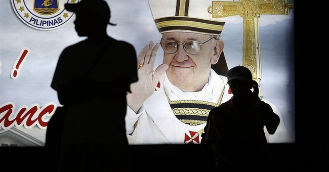 Manila traffic enforcers to wear diapers during pope's visit