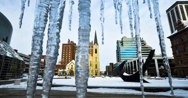 Too cool for school as arctic air sends the mercury plunging