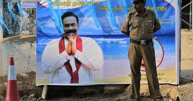 Sri Lanka's Tamils say they'll back president's challenger