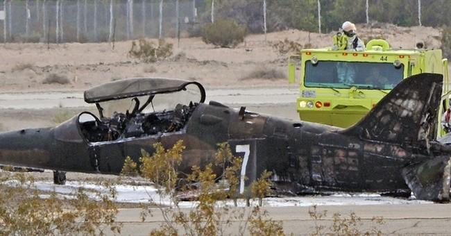 Civilian plane crashes, killing Marine on ground in Arizona
