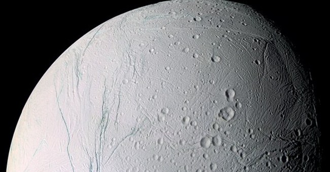 Underground hot springs on Saturn moon?  Study suggests yes