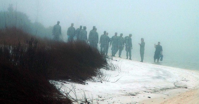 1 Black Hawk crashed in fog, killing 11; Another turned back