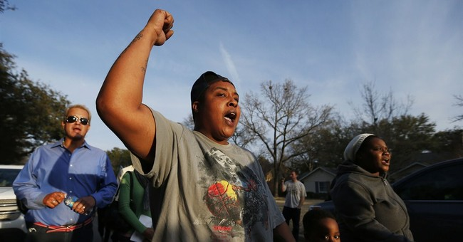 North Dallas home of leader of racist chant picketed