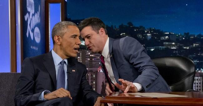 Obama banters with Kimmel, reflects on Ferguson