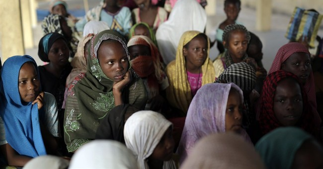 Some kids in refugee camp in Chad learn Quran at whip's lash