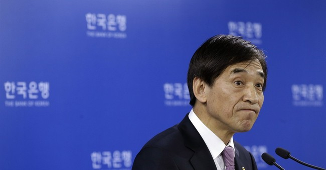 South Korea cuts interest rate to record low