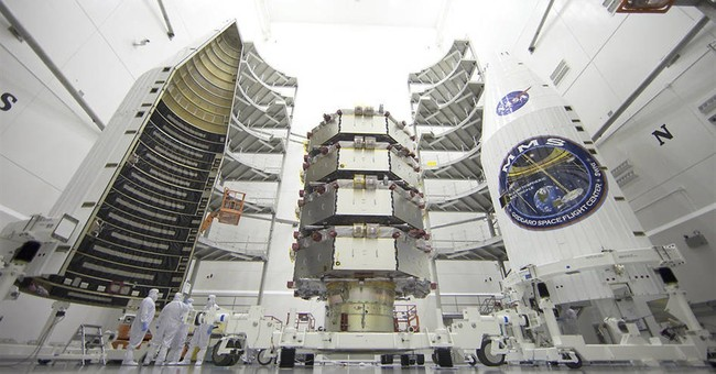 NASA launches 4 spacecraft to solve magnetic mystery