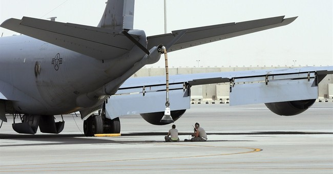 In coalition of many, US air power does the heavy lifting