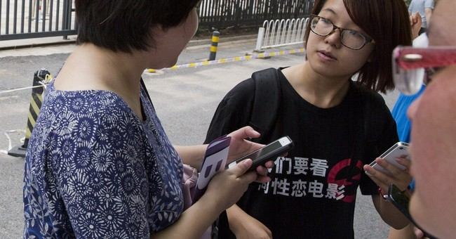 5 women's rights activists formally detained in China