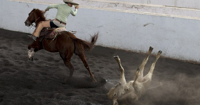 AP PHOTOS: Mexican rodeo keeps ranch traditions alive