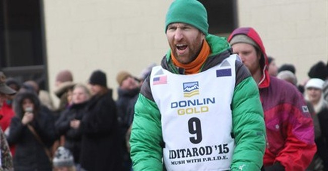 Blind dog helps musher make his way along Iditarod route
