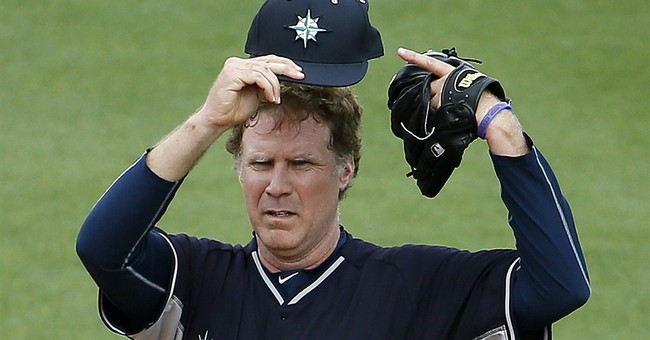 Ferrell's spring stunt immortalized on baseball stats sites