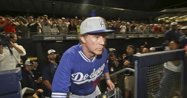 Ferrell's spring stunt immortalized on baseball stats sites