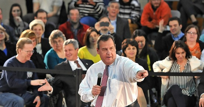 Christie building up campaign while sticking close to home