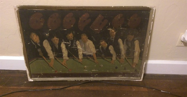 Painting bought for 50 cents in Indiana going up for auction