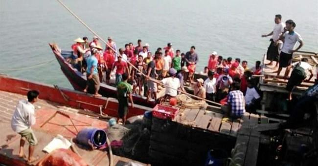 Myanmar ferry capsizes; 34 dead, over a dozen missing