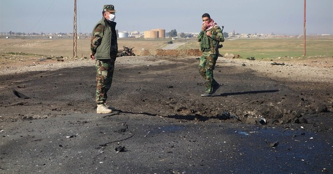 Iraqi Kurds claim Islamic State group used chemical weapons
