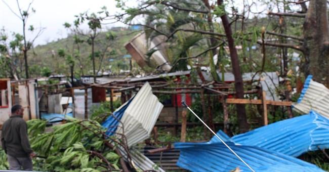 Aid workers say 8 people confirmed dead in Vanuatu cyclone