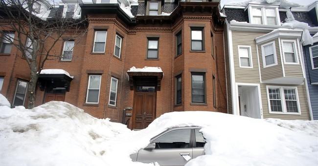 Correction: New England Snow-Boston Record story