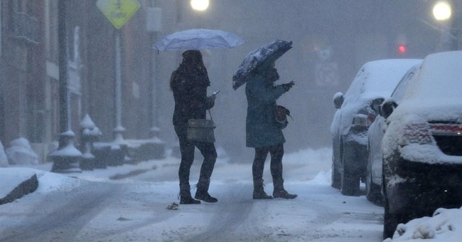 Correction: New England Snow-Boston Record story