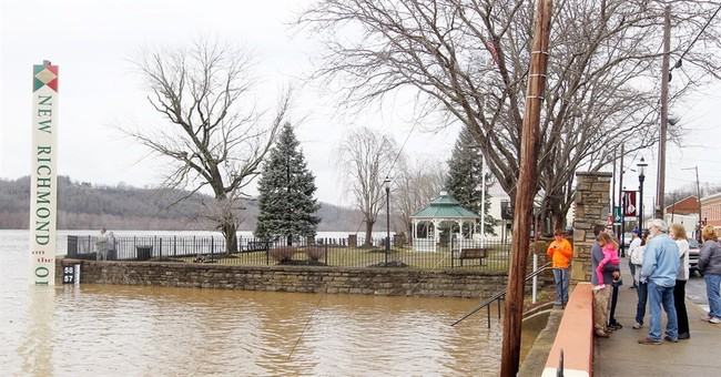 Ohio River to stay above flood stage for most of the week