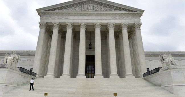 Sharp partisan divide in high court's same-sex marriage case