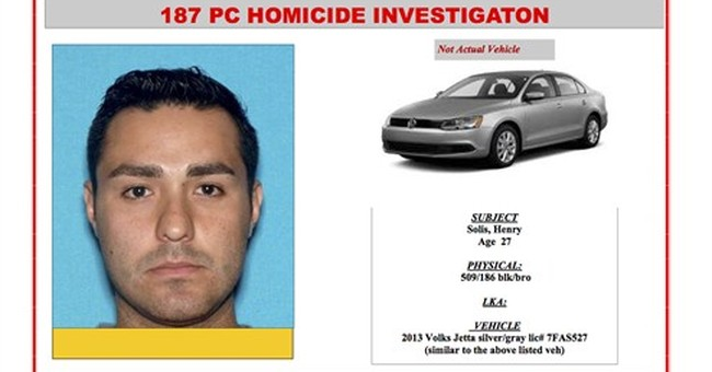 Los Angeles rookie officer wanted on suspicion of murder