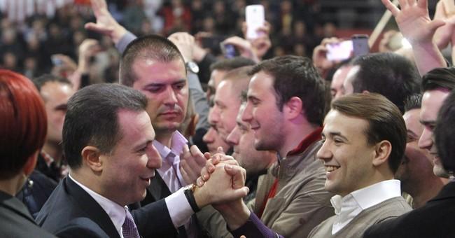Macedonia premier denounces opposition leader over tapes
