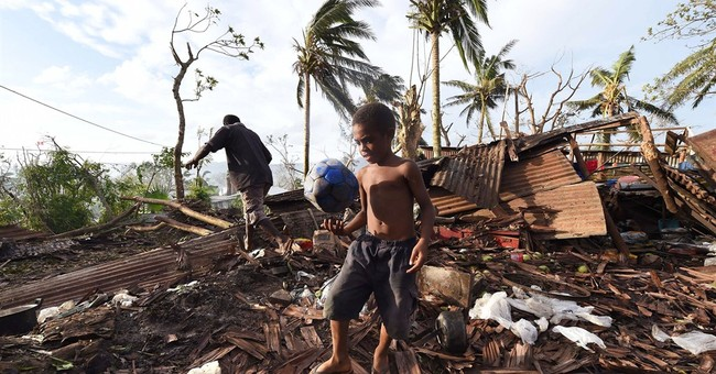 Relief groups rush aid to Vanuatu's cyclone-stricken islands
