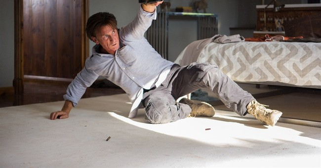 Review: Sean Penn flexes action-hero muscles in 'Gunman'