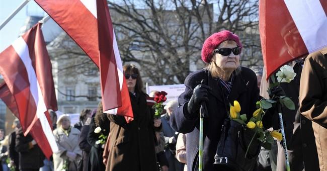 Latvian march honors veterans who fought alongside Nazis