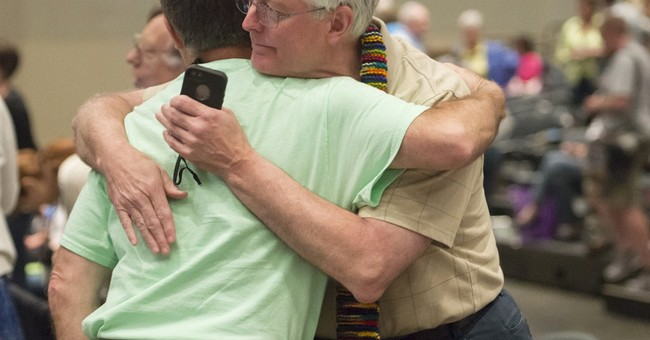 Presbyterians approve gay marriage in church constitution