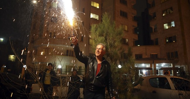 Iranians defy hard-liners to mark 'Festival of Fire'