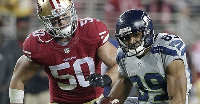 49ers' Chris Borland retiring at 24, wary of head trauma