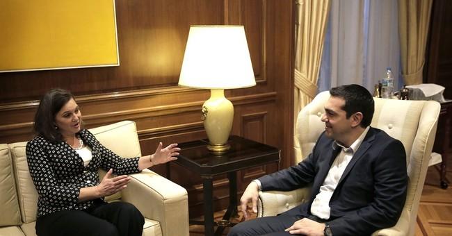 Greece seeking joint Merkel-Hollande talks on bailout