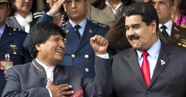 Venezuela allies line up with Maduro on faceoff with US