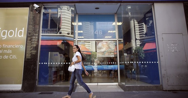 Citibank in Argentina to stop making bond payments