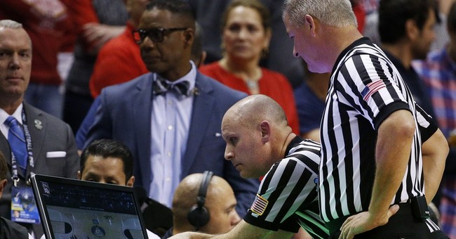 Refs cheer new high-def replay system for NCAA tournaments