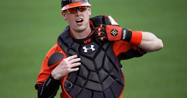Orioles catcher Matt Wieters bothered by elbow tendinitis