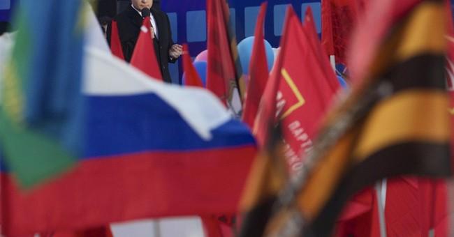 Putin says Russia regained 'historic roots' in Crimea