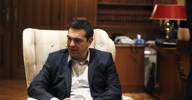 Greek leader defiant ahead of bailout meeting
