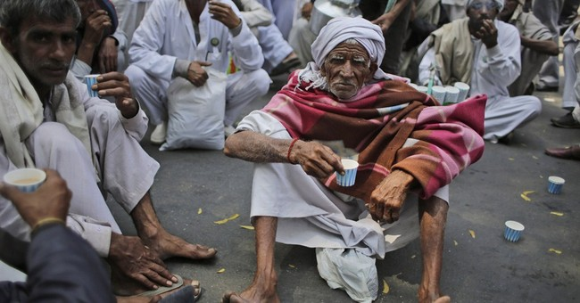 Image of Asia: Farmers protest Indian land acquisition bill