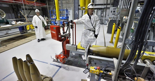 US begins destroying its largest cache of chemical weapons