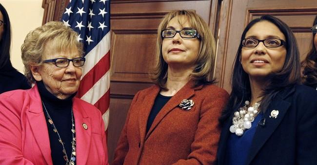 Gabby Giffords: Women important to push against gun violence